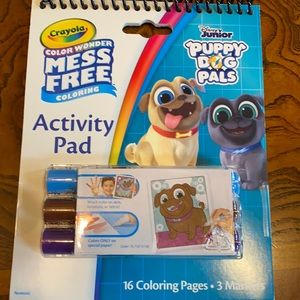 5/$15 Crayola Puppy Dog Pals Activity Pad